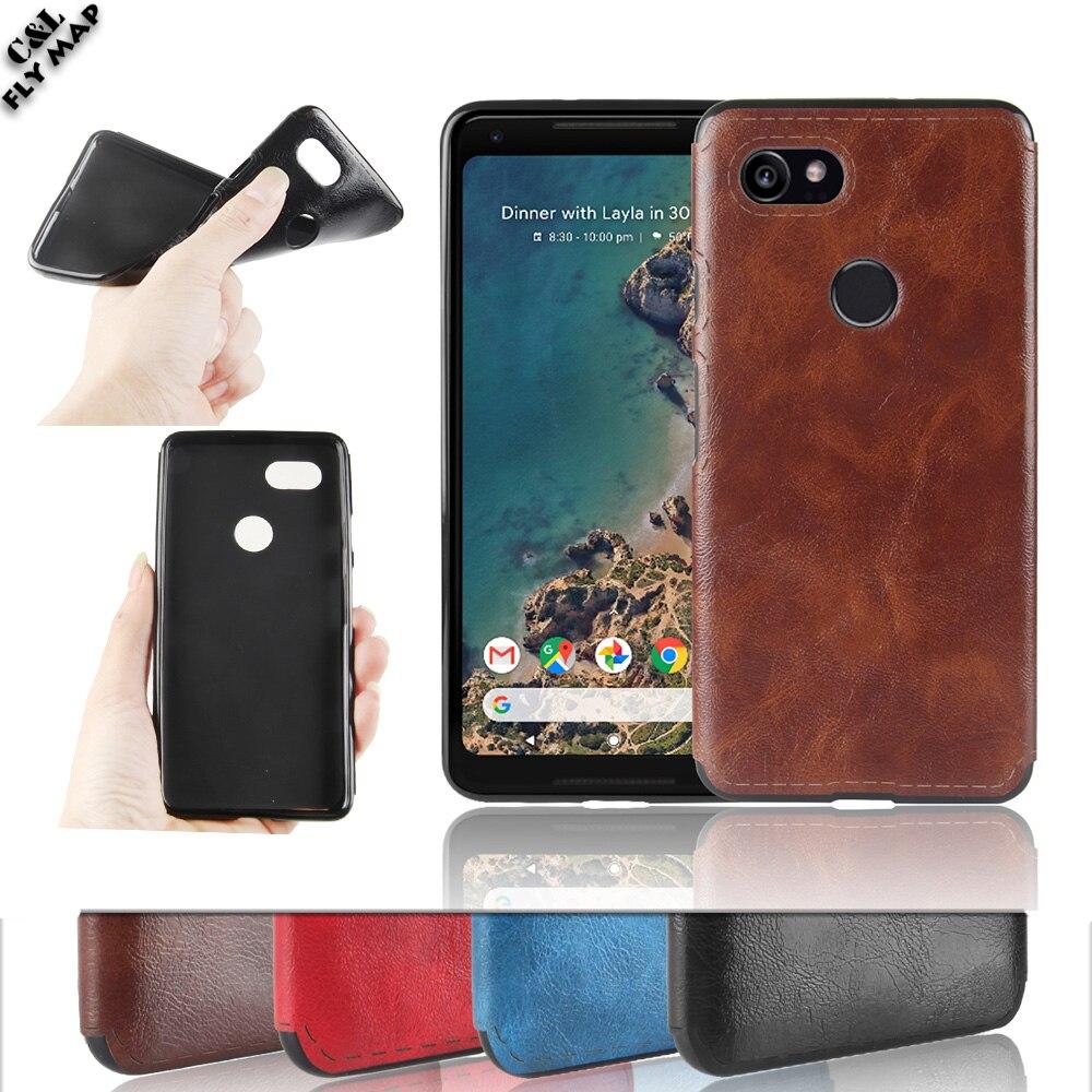 Мягкий чехол кожи для Google Pixel XL 2 Global G011C Матовый ТПУ Защитная крышка телефона Shell Coque для Google Pixel XL телефон 2 2XL
