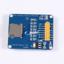 3.3V/5V Micro SD/ TF Dual Card Reader Module SPI/ SDIO Dual Mode Storage Board for Arduino AVR PIC