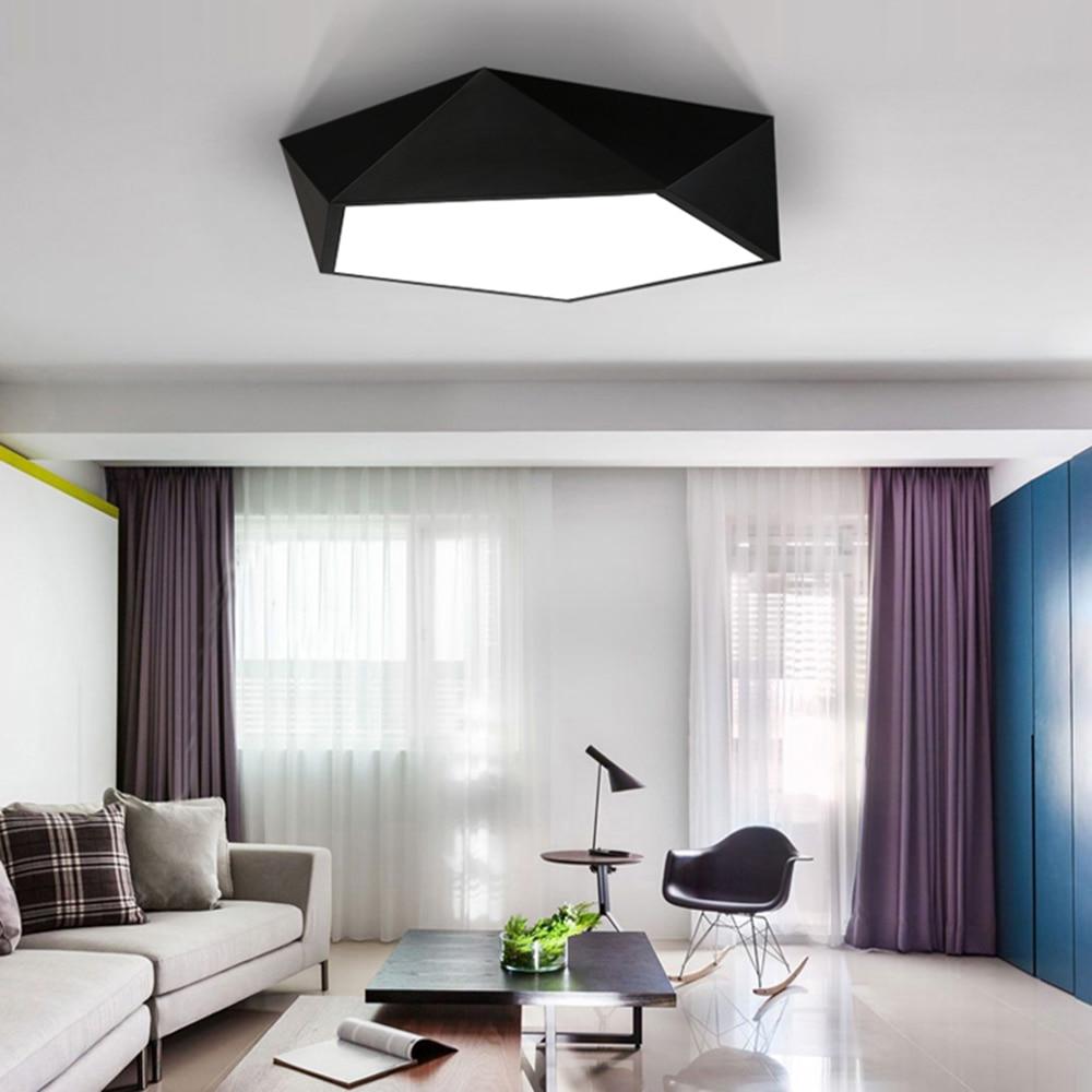 ღ ღNouveau Acrylique LED Plafonniers Lampe pour Salon Chambre ...
