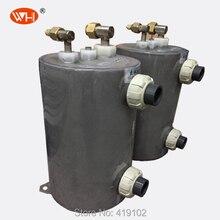 Титановый корпус и трубчатый теплообменник бассейн Солнечный водонагреватель WHC-1.0DRL