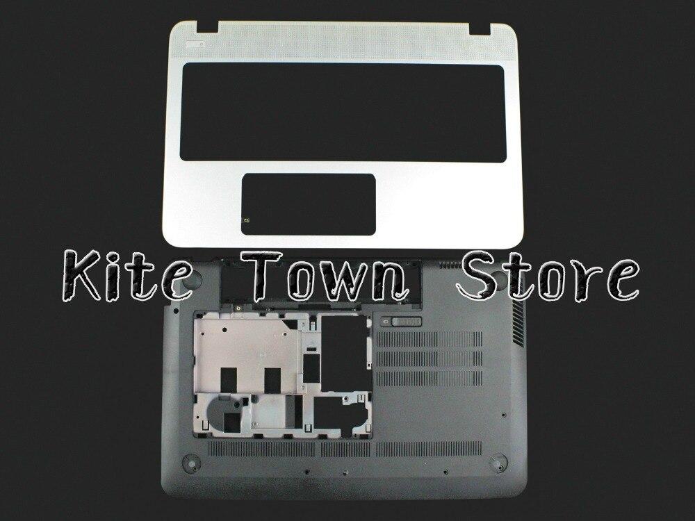 New Upper  Palmrest Case 760040-001 774153-001 & Bottom Case Cover For HP M6-N M6-N012DX