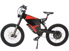 Custom Electric  motorcycle made 72V   3000W Ebike Plus Stealth Bomber Stealth bomber electric bike off-road mountain bike