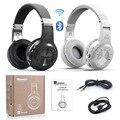 Оригинал Bluedio H + (Турбины) Bluetooth Стерео Беспроводные Наушники Встроенный Микрофон Micro-SD/FM Радио BT4.1 Over-ear Наушники