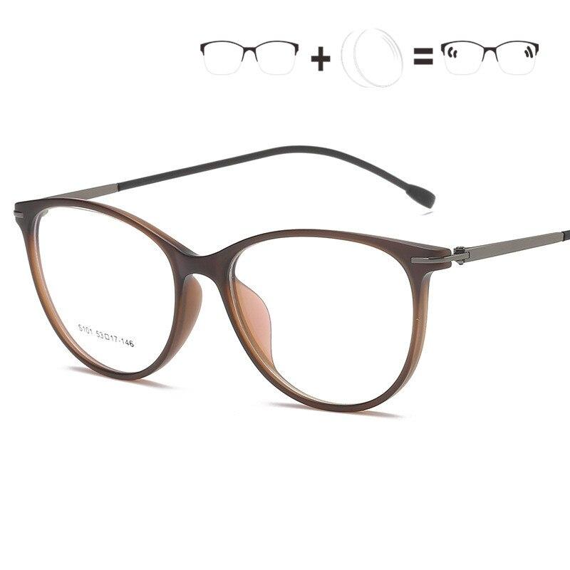 1,61 Index Photochromism Rezept Tr90 Unisex Oval Opticas Brillen Brillen Oculos Objektiv De Brillen Gafas Glasse Rahmen