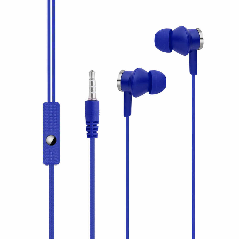 Universal earphones  In-Ear Magnet Stereo Earbud Earphone Headset with Mic For Cell Phone fone de ouvido