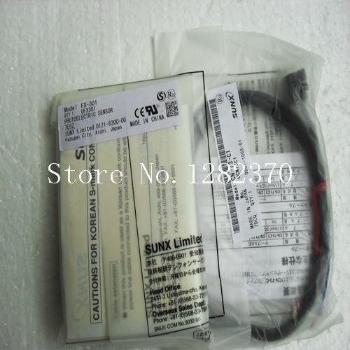 [SA] New Japan genuine original SUNX photoelectric switch FX-301 spot (send power cord) --2PCS/LOT[SA] New Japan genuine original SUNX photoelectric switch FX-301 spot (send power cord) --2PCS/LOT