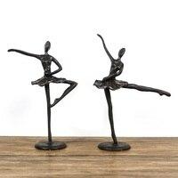 Şekil Bale Heykeli Dans Demir Sanat ve El Sanatları Ev Dekorasyonu Tamamen Manuel Sanat El Sanatları Oturma Odası L3042|Statü ve Heykelleri|Ev ve Bahçe -