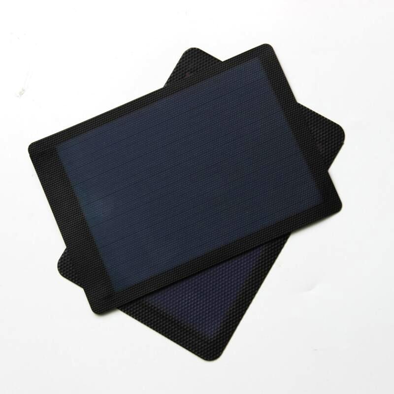 BUHESHUI 1,5 Вт 2 В 1,5 В Гибкая солнечных элементов аморфного кремния Складная очень тонкий Панели Солнечные DIY телефон Зарядное устройство 5 шт