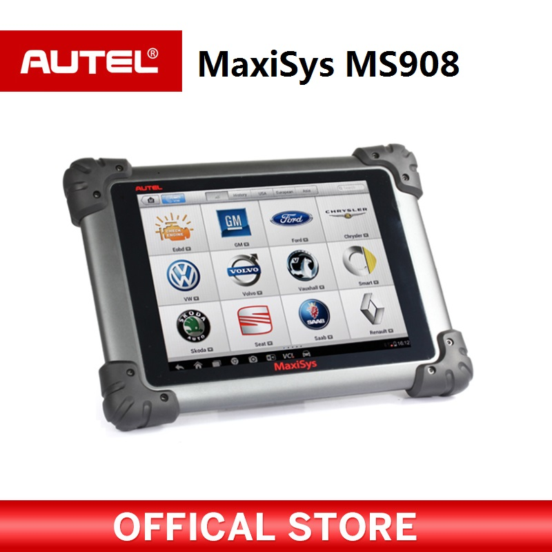 Autel MaxiSys MS908 Auto Diagnostic Scanner Wireless Car Repair Tool Vehicle Diagnostic Equipment op com car vehicle diagnostic tool black