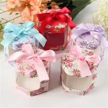 Free Shipping 50Pcs Creative Big Size Wedding Decoration Boxes Wedding Candy Box Wedding Favors And Gifts Event & Party Supplies