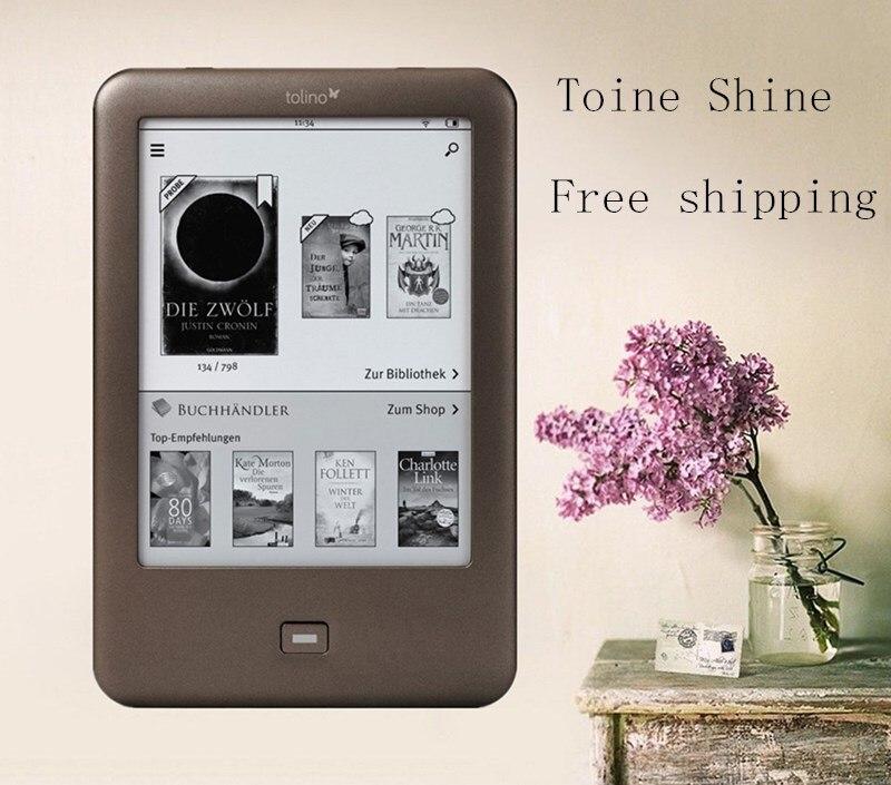 Tolino Shine eBook reader WIFI e ink ebook reader 4GB e ink 6 inch touch screen