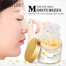 50pcs Gold Osmanthus Fragrans Eye Mask Collagen Gel Eye Patc