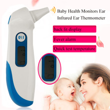 Wholesale prices 1pcs High Accuracy Home Digital Baby Health Monitors Ear Thermometer Infrared Ear Thermometer LCD Digital Thermometer AET-R111