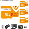 Real Capacity Memory Card Micro SD Card 32gb 4gb 8gb 16gb 64gb Micro SDHC SDXC Transflash TF Card with Free Adapter
