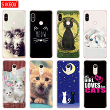Silicone Cover telefoon Case voor Xiaomi redmi 5 4 1 1 s 2 3 3 s pro PLUS redmi note 4 4X 4A 5A kat kitty Meow(China)