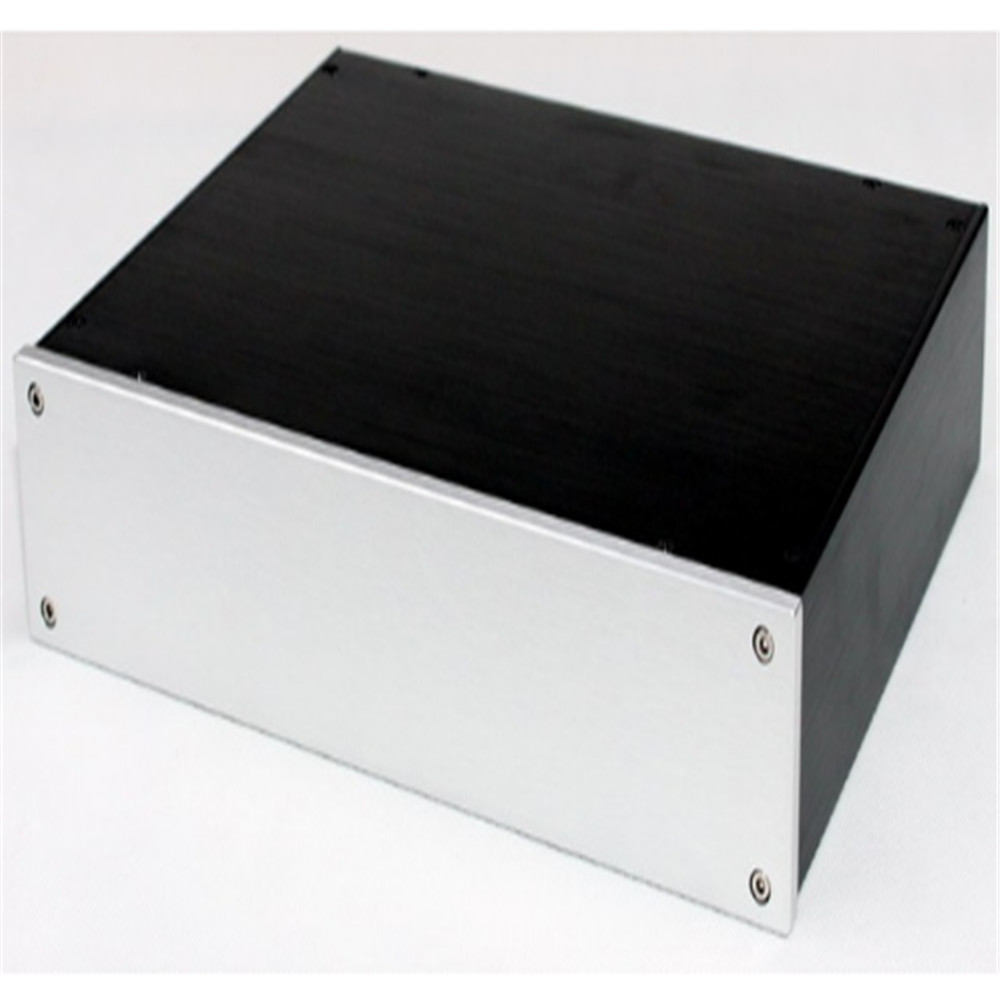 WA83 all aluminum amplifier chassis / <font><b>Tube</b></font> <font><b>amp</b></font> / pre-<font><b>amp</b></font> chassis / <font><b>AMP</b></font> Enclosure / case / DIY box (325*70*248mm) image