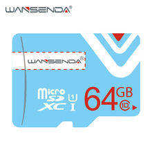 WANSENDA Memory Card 64GB 32GB micro sd card 16GB 8GB Class10 flash card Microsd TF Card f