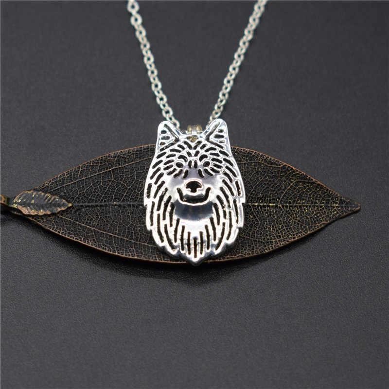 Peri Baru Serigala Kalung Kualitas Tinggi Trendi Serigala Liontin Kalung Wanita Serigala Perhiasan Wanita Pria Hadiah