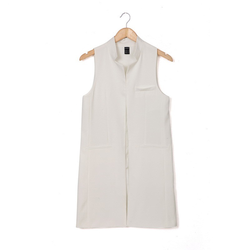 Women-white-black-long-vest-coat-Europen-style-waistcoat-sleeveless-jacket-back-split-outwear-casual-top (2)
