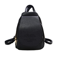 Fashion Shoulder Backpack Women 2017 New Wave Of Female Backpack Women PU Wild Mummy Bag Leisure