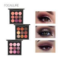 9 colores sombra de ojos PALLETE
