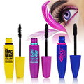 3pcs/lot Waterproof Mascara Volume Express Makeup Long Eyelash Silicone Brush Curving Lengthening Mascara Waterproof  VDX35 P30