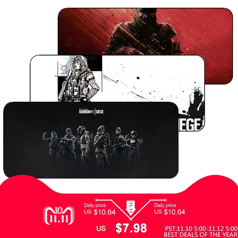 Creative large game anime mouse pad keyboard computer desk mat can be slipped PC laptop desktop computer home office available цена