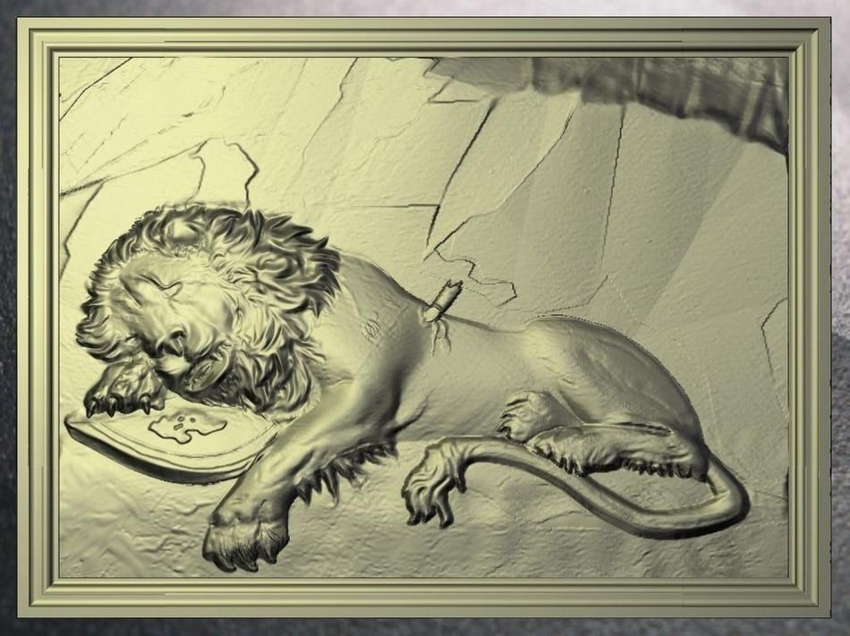 Exclusive artcam relief Lion_6  model  for cnc in STL file format 3d model relief for cnc in stl file format werewolf