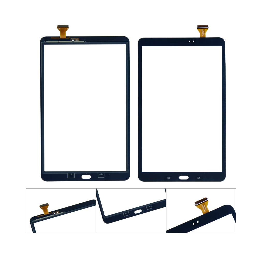 Touch Screen For Samsung Galaxy Tab A 10.1 T580 T585 SM-T580 SM-T585 Digitizer Glass Digitizer Panel Replacement 2 color for samsung galaxy tab a 10 1 t580 t585 sm t580 sm t585 touch screen digitizer sensor lcd display monitor assembly