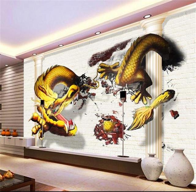 3d Wallpapercustom Room Muralphoto Wall Paper3d China Dragontv