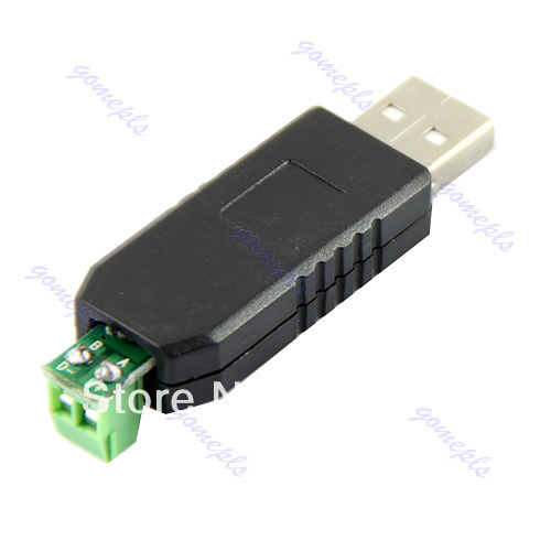 J34 Free Shipping USB to RS485 485 Converter Adapter Support Win7 XP Vista Linux Mac OS WinCE5.0