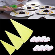 1 pc Reusable Icing Piping Cream Pastry Bag Silicone Kitchen  Accessories Dessert Baking 70 80