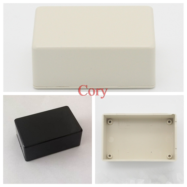 Junction Box Waterproof Cover Project Instrument Case Enclosure Box 70 X 45 X 30mm White/Black