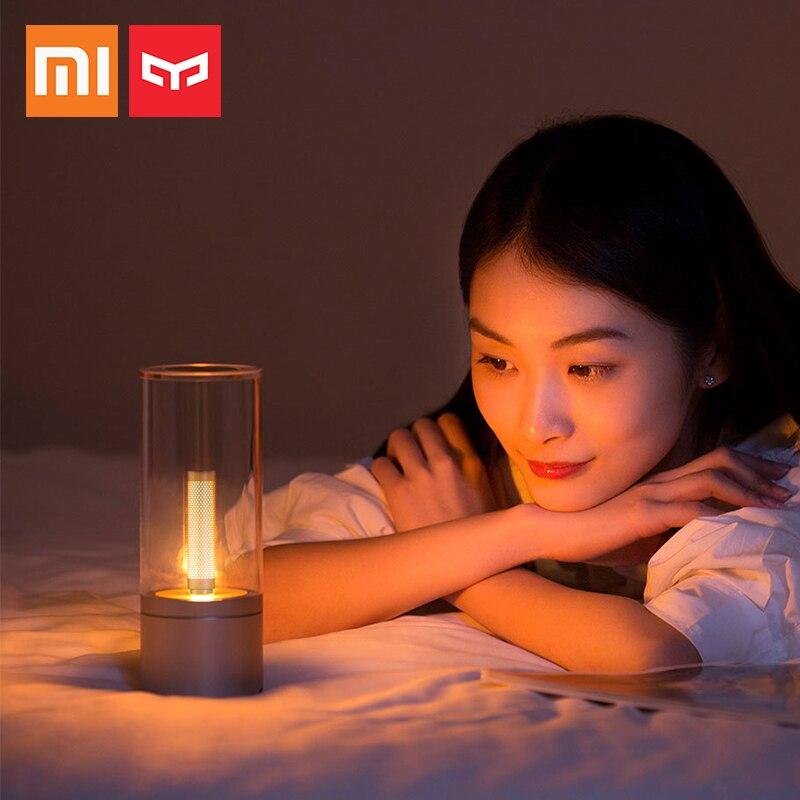 2018 Xiaomi Mijia Yeelight Smart Candle Light Indoor Candela Night Table Light Bedside Lamp Smart App