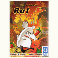 Rat Hot Board Game 2 Players Cards Game Metal Box For Party Family Friends Easy To