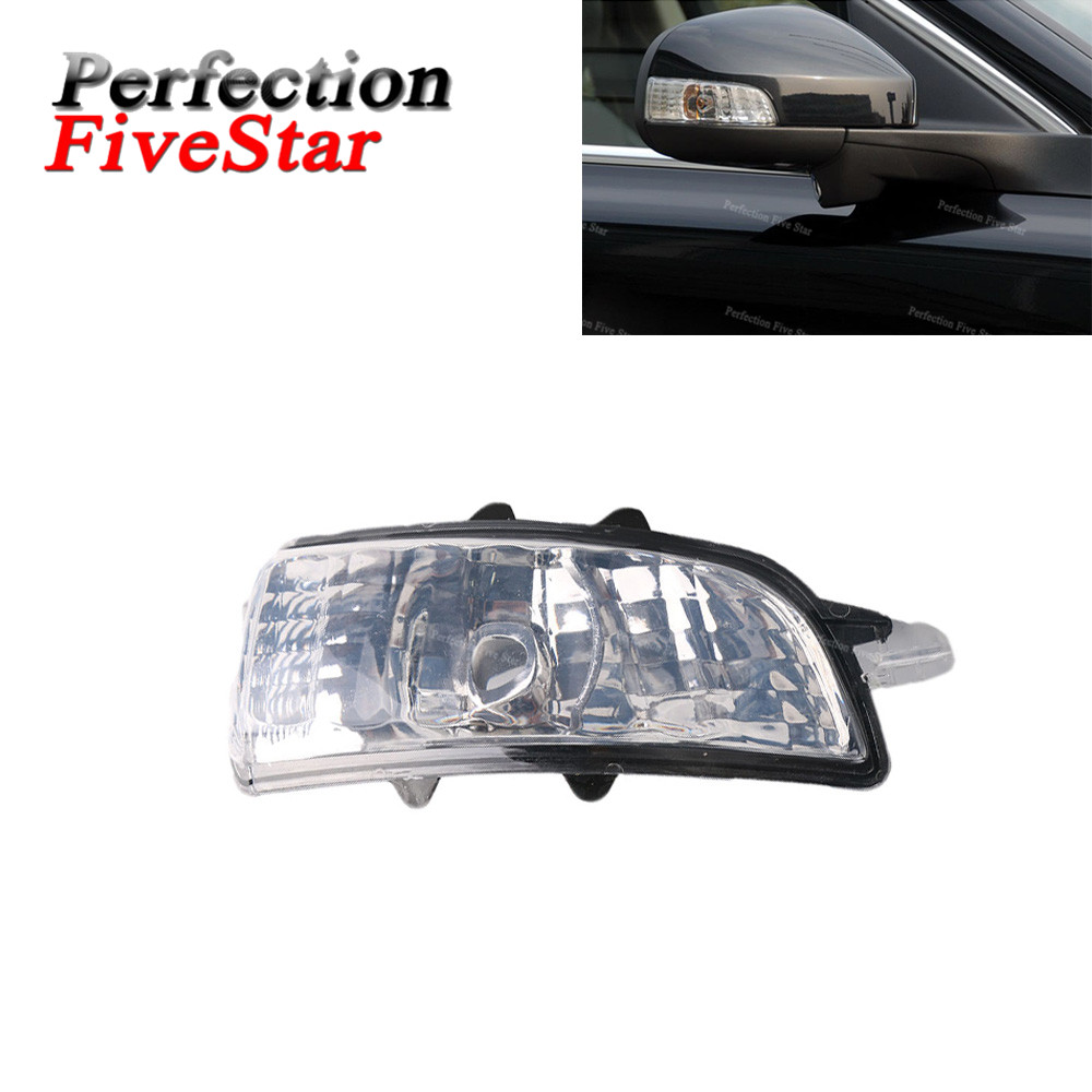 цена на Right Side Wing Mirror Indicator Turn Signal Light Lamp Lens NO Bulb For Volvo S40 S60 S80 C30 C70 V50 V70 2008 2009 31111102