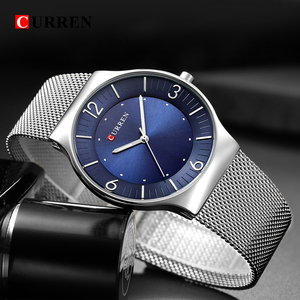 Image 5 - סגנון פשוט הגעה לניו אופנה & מזדמן CURREN גברים עסקים של גברים מלא פלדת קוורץ שעוני יד Relogio Masculino Relojes
