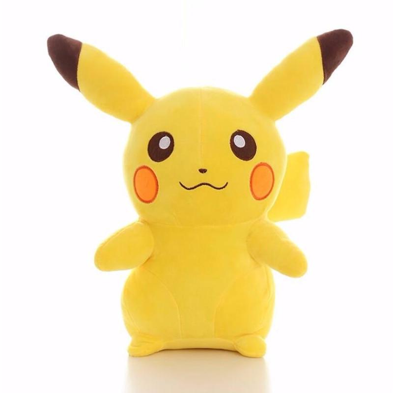 28cm 30cm Pikachu Plush Toys Children Gift Cute Soft Toy Cartoon Pocket Anime Kawaii Kids Toy Gengar Pikachu Stuffed Plush Doll free shipping 23cm special offer pikachu plush toys high quality very cute plush toys for children s gift