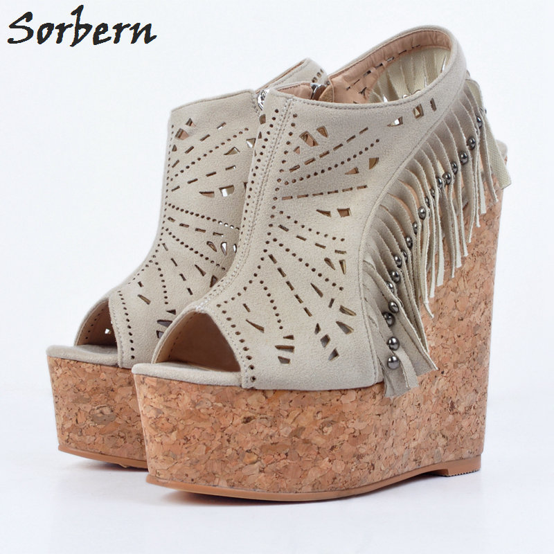 Sorbern Plus Size Women Pumps Rivets Sexy Ladies Party Shoes Zipper Designer Shoes Women Luxury 2017 New Arrive Hot Sale Shoes sorbern high heels pumps womens shoes platform autumn women shoes plus size ladies party shoes 2017 new arrive peep toe zipper