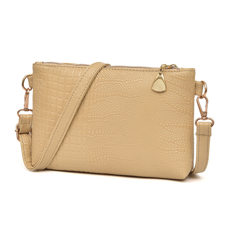 bolsa de crocodilo padrão de Material : PU Leather