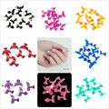 500PCS French Nail Tips False Acrylic Nail Art Tips Armor Tips Fake Nails Multicolor Optional