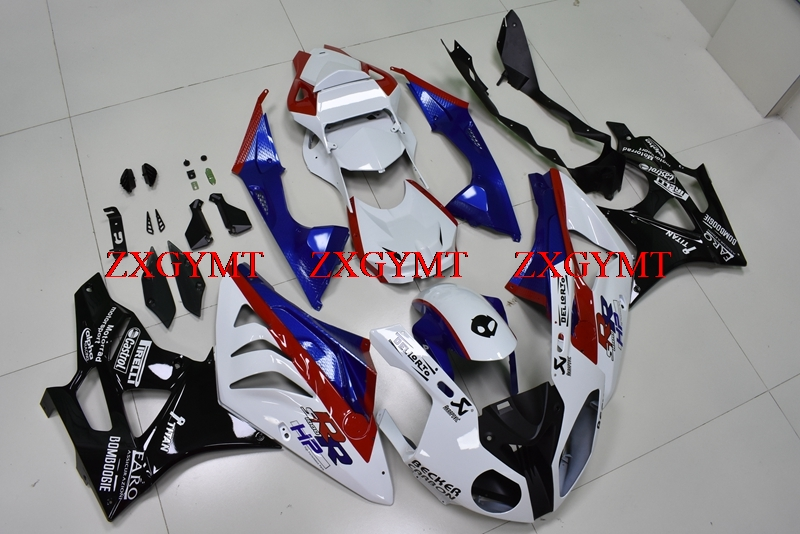 Fairing Kits for S1000 RR 2010 - 2014 Fairings for BMW S1000RR 11 12 Black White Blue Plastic Fairings S 1000 RR 2012Fairing Kits for S1000 RR 2010 - 2014 Fairings for BMW S1000RR 11 12 Black White Blue Plastic Fairings S 1000 RR 2012