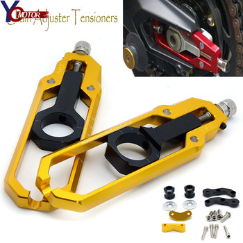 For YAMAHA Tmax 530 2013 2014 2015 2016 Motorcycle Accessories Rear Axle Spindle Chain Adjuster Blocks chain adjuster tensioners