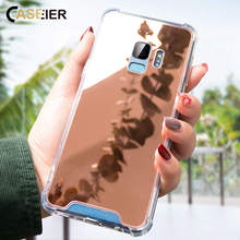 CASEIER Mirror Case For Samsung Note 8 9 Top Quality Mirror Protector Case For Samsung Galaxy S10 S10E S8 S9 Plus Fundas Capinha