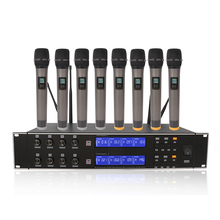 цена на Hot Selling Wireless Mic Professional Wireless Microphone System R-U8000 High Quality Wireless Microphone