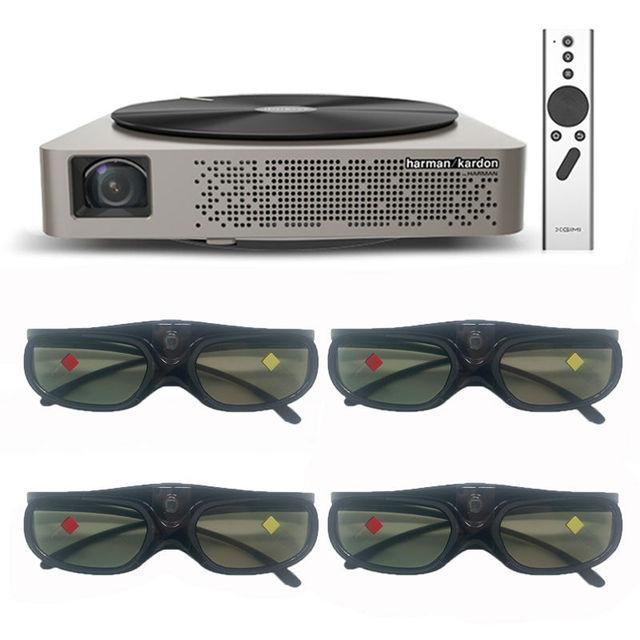 Original XGIMI Z4 Aurora 4 K Proyector 3D Inteligente Mini Portátil Led Proyector Dlp FULL HD de Cine En Casa Tv Cine para negocio