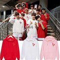 KPOP Corea Moda DIECISIETE 17 Miembros Carta de Amor Álbum de Algodón Jerseys Sudaderas Hoodies Ropa k-pop PT085