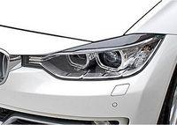 Carbon Fiber Car Headlight Eyebrows Cover Trim Sticker for BMW F30 2011 2015