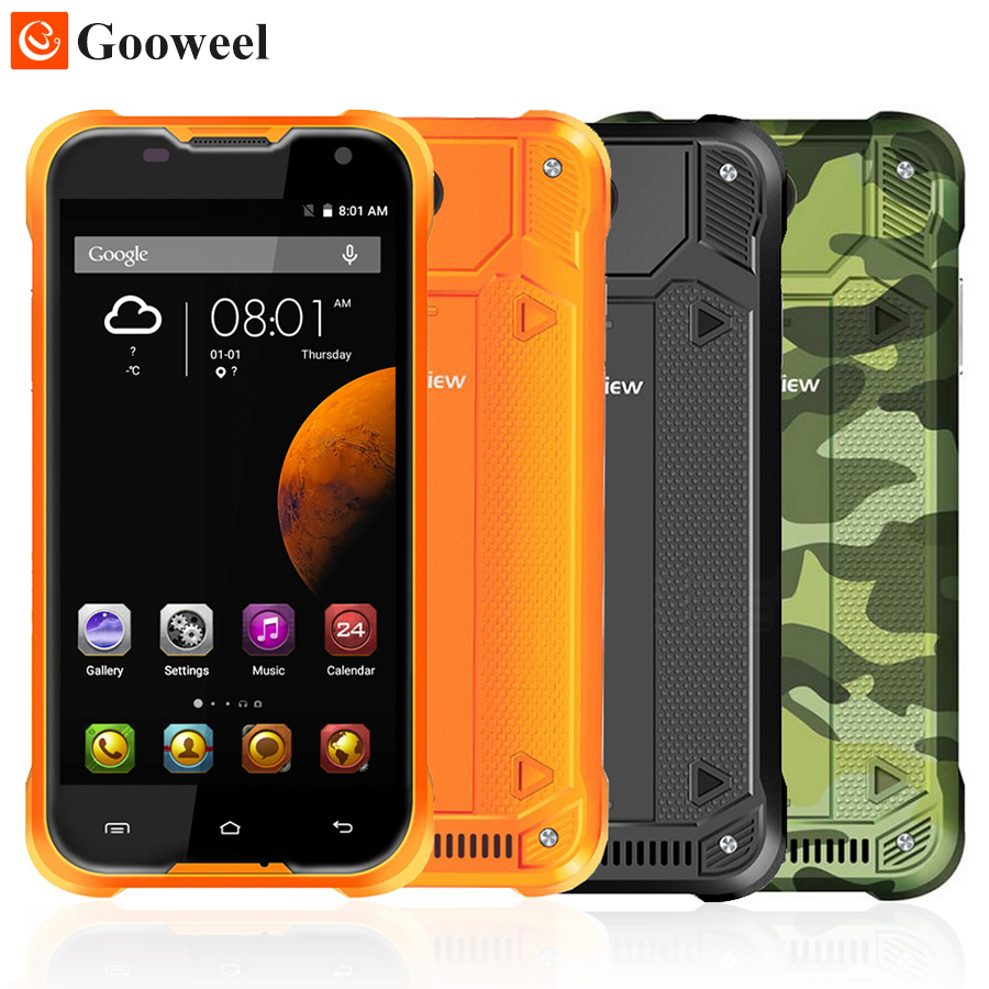 Original Blackview BV5000 Mobile Phone 5.0 inch Quad Core smartphone 2GB RAM 16GB ROM Android 5.1 Dual SIM Waterproof Phone