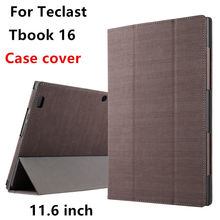 Case For Teclast Tbook 16 Protective Smart cover Leather Protector Tablet PC For Teclast Tbook16 PU Sleeve 11.6 inch Cases Cover